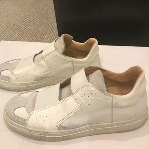 MM6 Maison Margiela woman's white shoes size 38